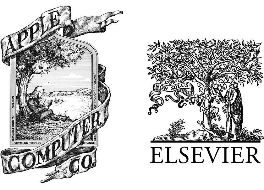 Logos: Apple vs. Elsevier